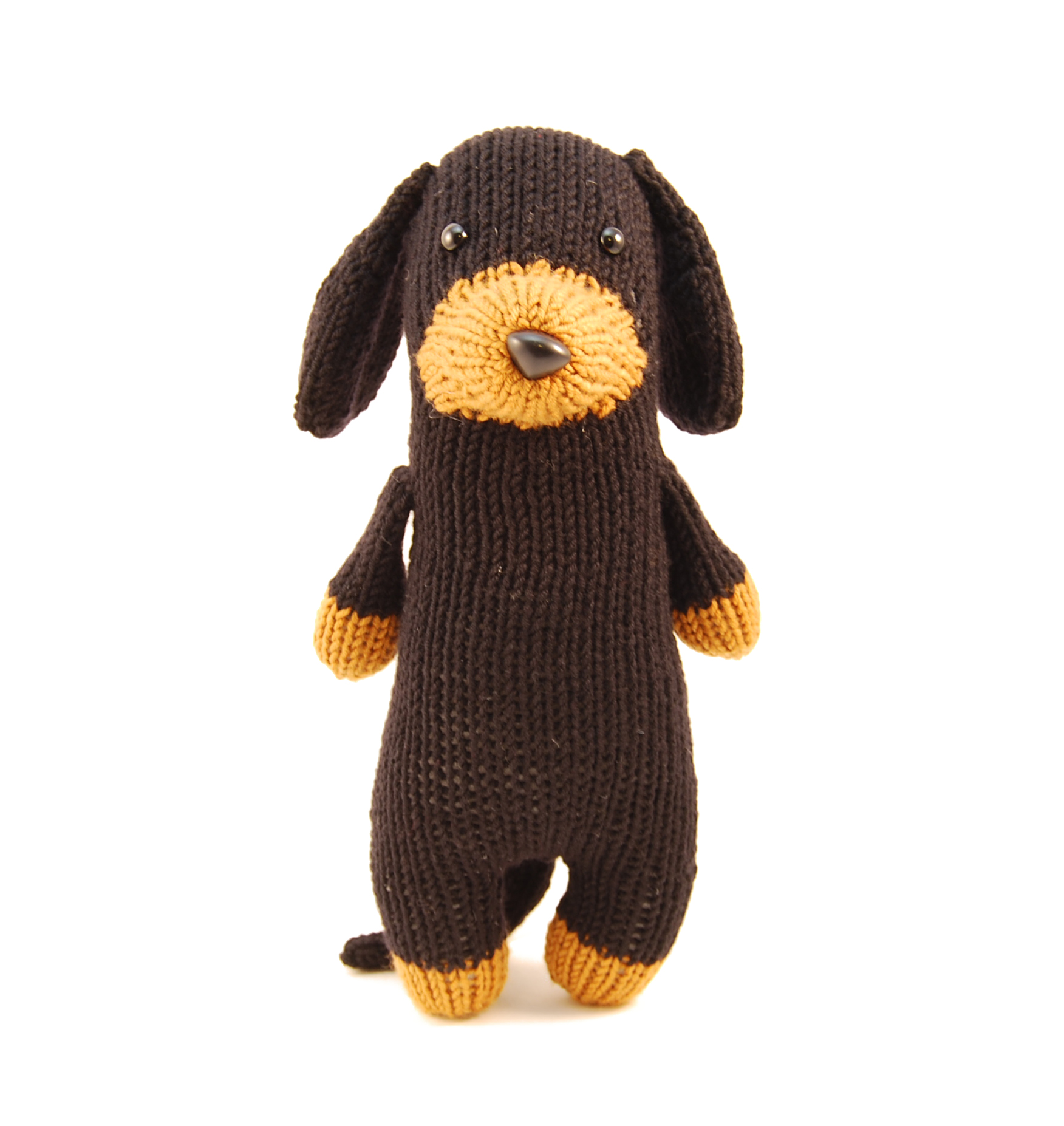 Meet tofu rebecca danger yes i have pugs now but i grew up with dachshunds so they hold a special place in my heart and i thought a knitted dachshund would be a hoot bankloansurffo Gallery