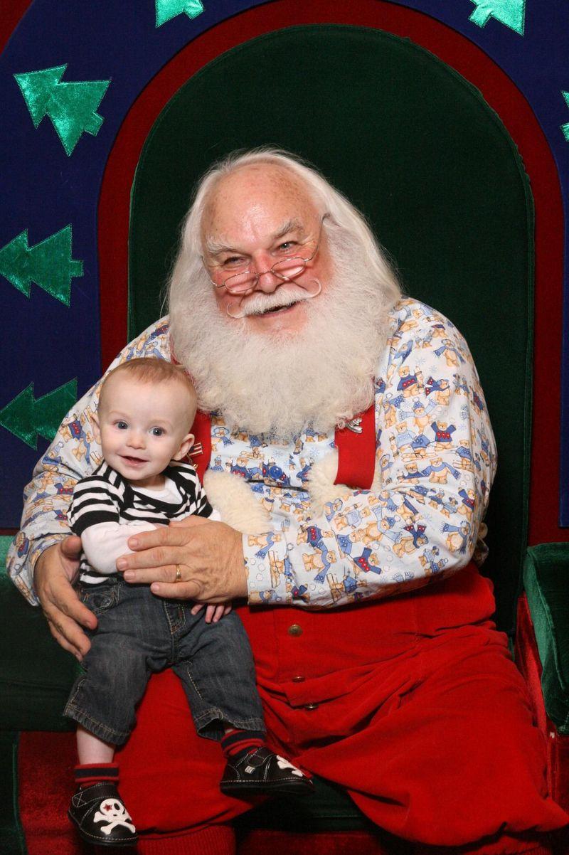 Presley Santa Picture 2011
