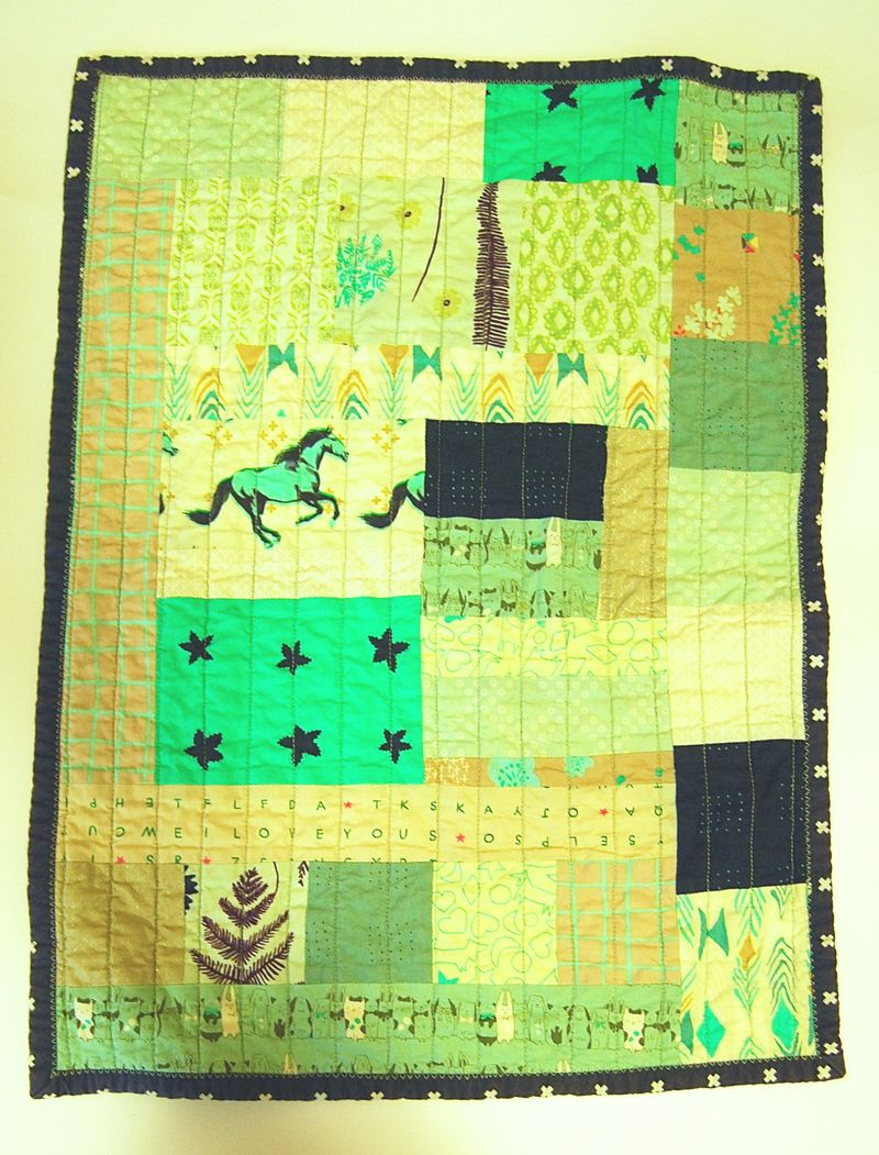 Mavericks Lovie Quilt 5