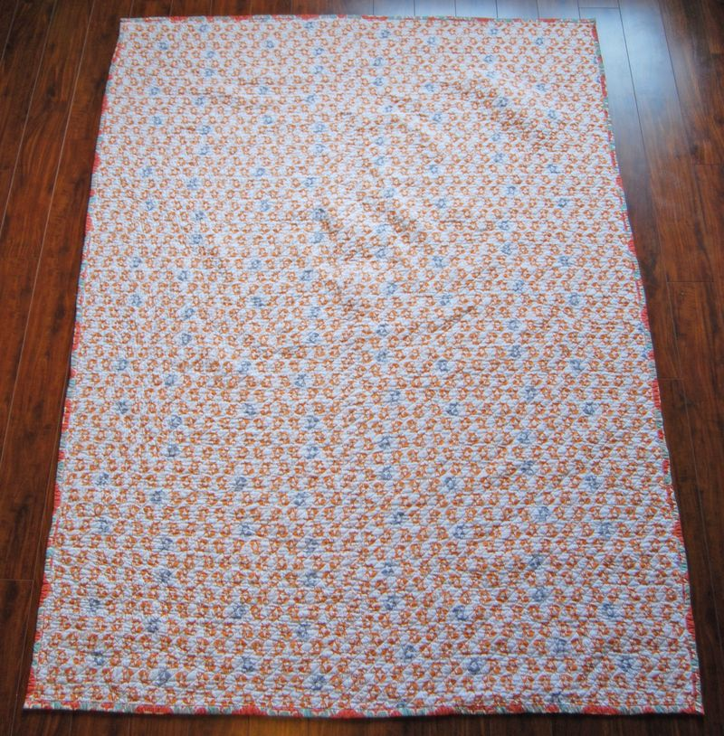 Fancy Fox Quilt 8