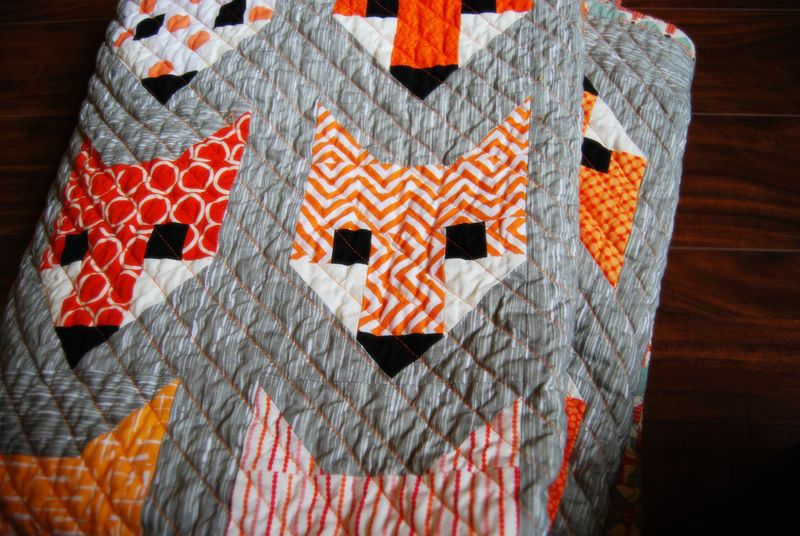 Fancy Fox Quilt 2