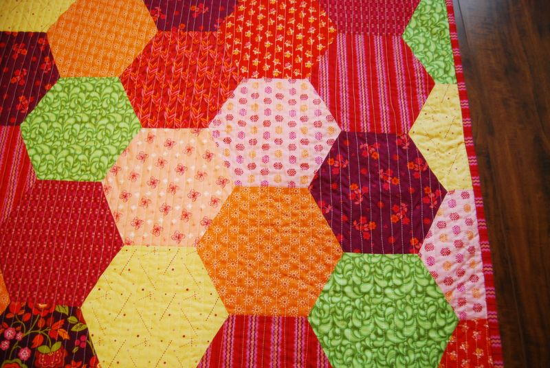 8.6 Mayhem Quilt Close Up