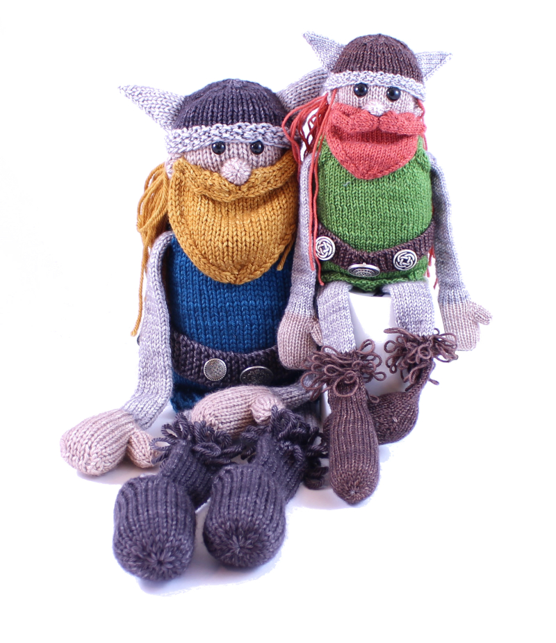 Magnus Ragnar The Victorious Viking A Free Knitting Pattern With