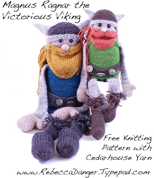 Magnus Ragnar Viking Free Knitting Pattern