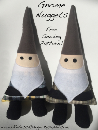 Gnome Nuggets Free Sewing Pattern