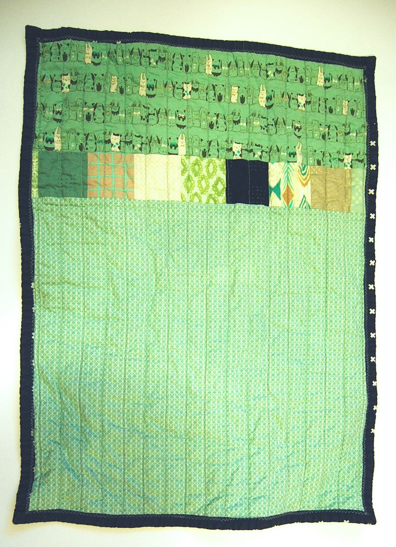 Mavericks Lovie Quilt 6