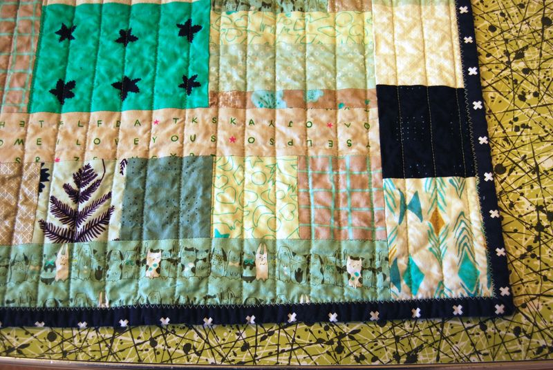 Mavericks Lovie Quilt 7