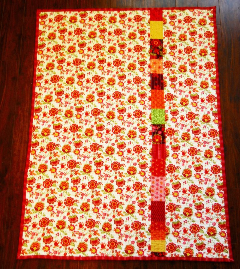 8.6 Mayhem Quilt Back