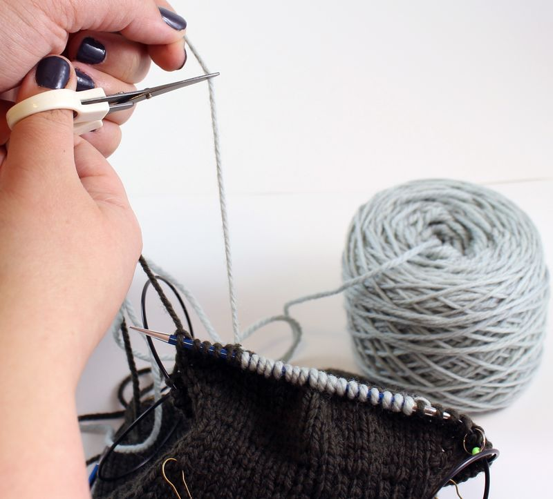 Colorwork in the round tutorial 20