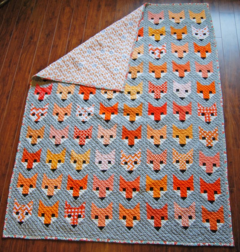 Fancy Fox Quilt 7