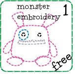 Monster Embroidery One